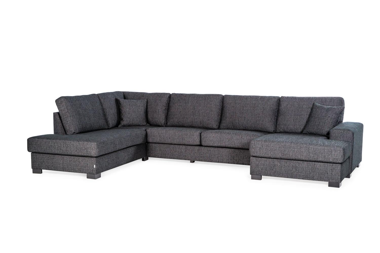 In picture: Malta L (Left). Fabric: Elenor 6605. Leg: 32, black.