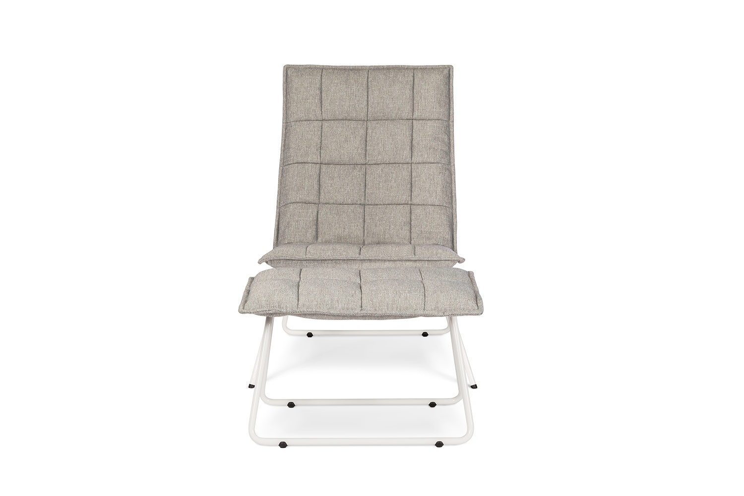 In picture Ibis with footstool; fabric: Solution 60; leg: white.