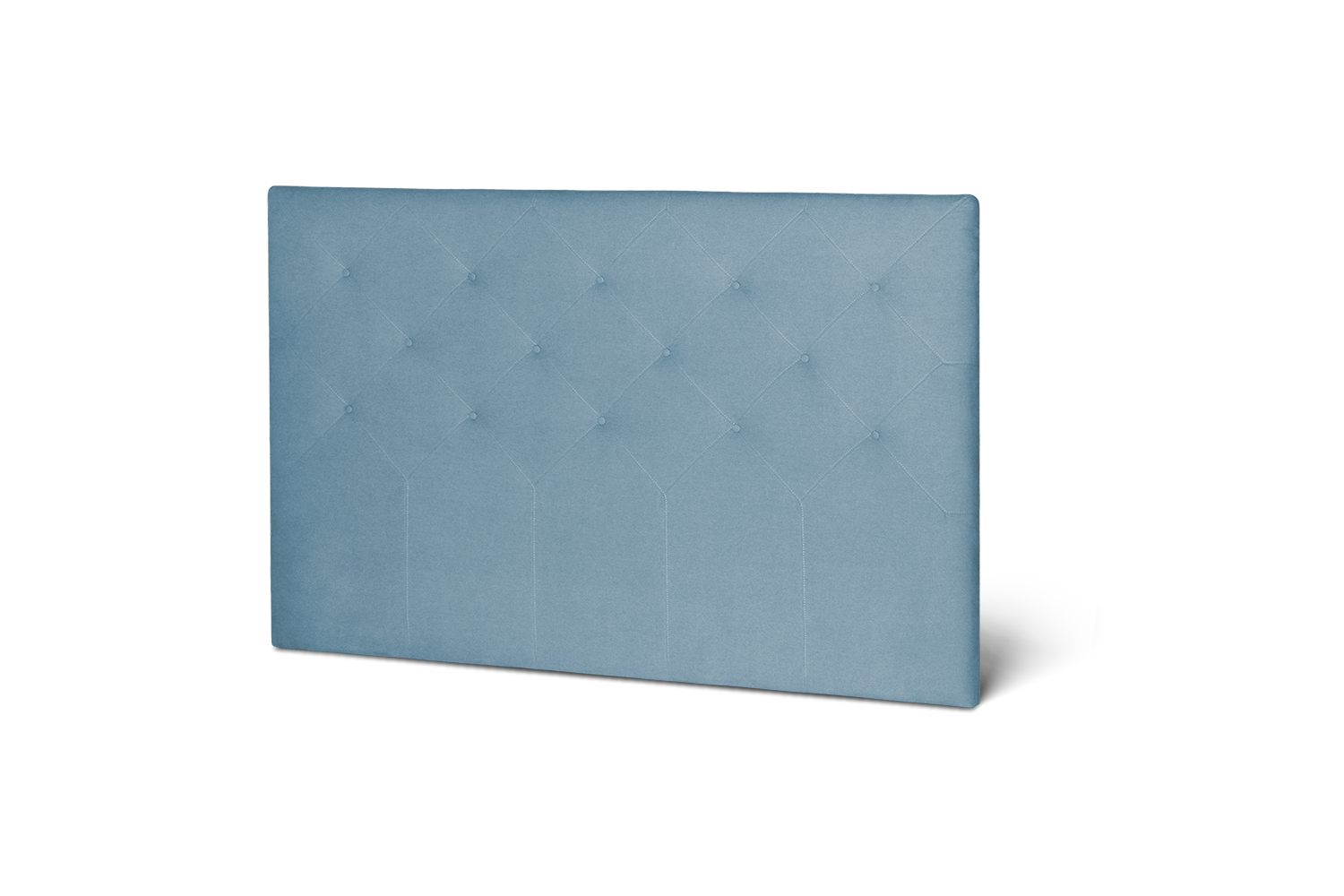 In picture Headboard Superior with fabric Delta 5142.