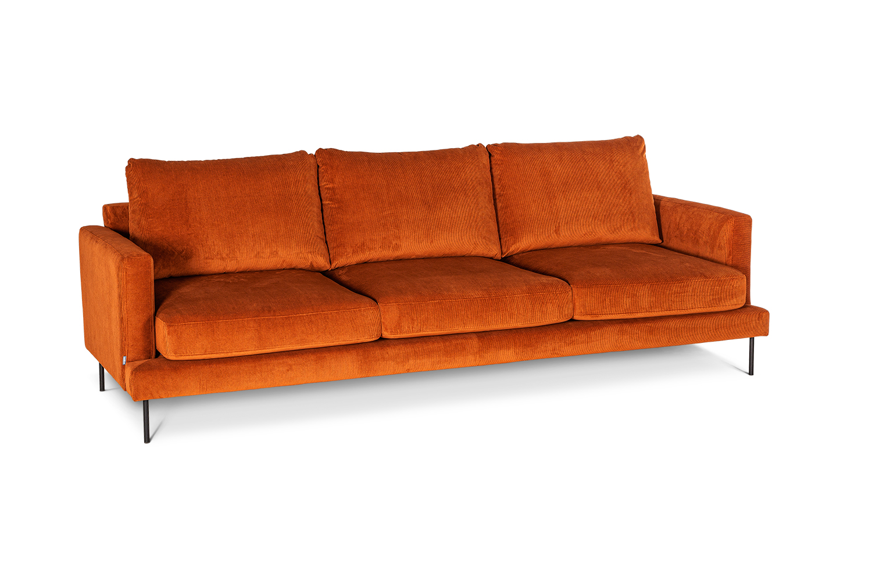 In picture: Boom Maxi 3. Fabric: Wave 100. Leg: 127, matte black.
