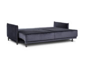 In picture: Lucas 3BM bed fully open. Fabric: Harmony 79. Leg: 121 black.